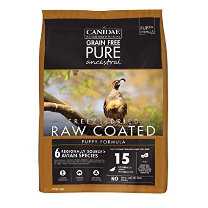 Canidae Raw Dog Food - Puppy Formula (4#)