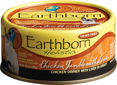 Earthborn Feline Chicken W/ Liver 5.5oz