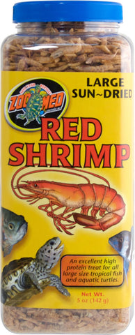 Zoo Med - Large Sun Fried Red Shrimp (5oz)