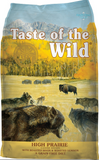 TASTE OF THE WILD DOG HIGH PRAIRIE 28#