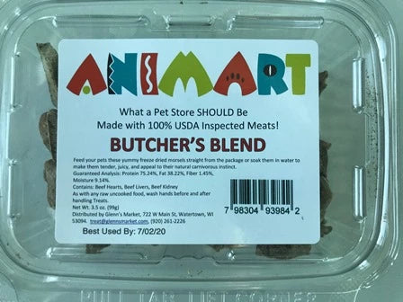 Animart Treats - Butcher Blend (3.5oz)