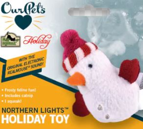 Our Pets - Northern Lights Holiday Toy
