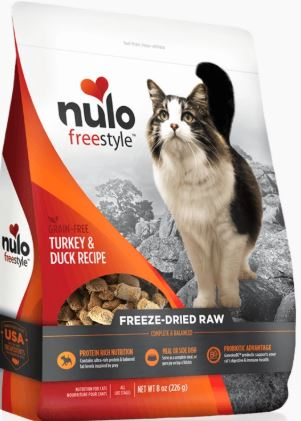 Nulo Cat Treats - Freeze-Dried Raw: Turkey & Duck (3.5oz)