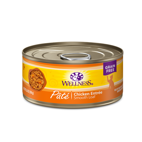 Wellness 5.5oz Cat Can - Chicken GF
