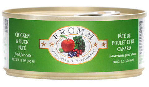 Fromm Cat Can - Duck A La Veg Pate (5.5oz)