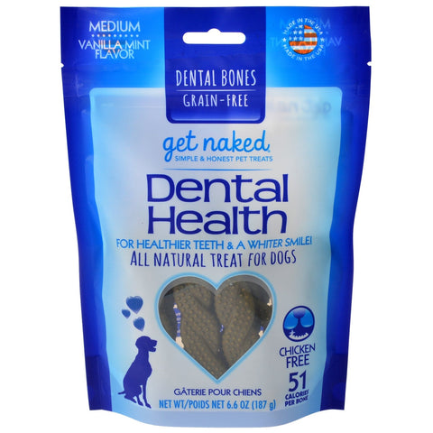 Get Naked - Dental Health Pet Treats For Dogs (6.6oz)
