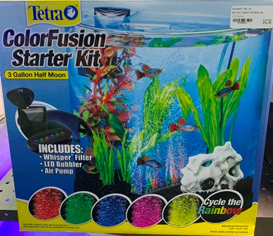 Tetra ColorFusion Starter Kit (3 Gallon Half Moon)