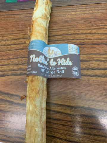 "Nothin' to Hide 10"" Beef Roll 1pack"