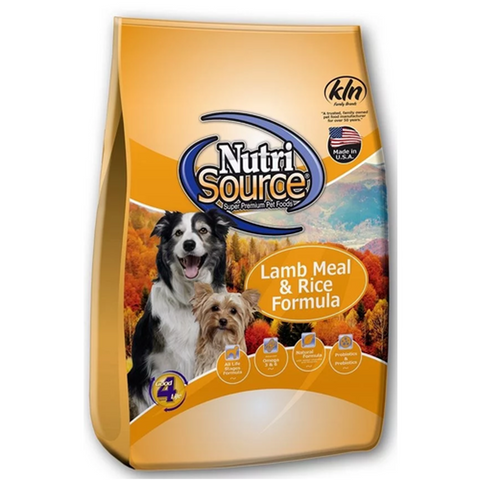 Nutrisource ALS Lamb/Rice K9 5#