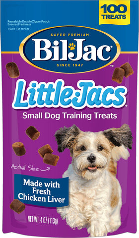 Bil Jac Little Liver 4oz - Small Dog (100 Treats)