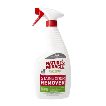 Natures Miracle Enzymatic S&O Remover Spray 24oz - 1806598128