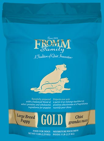 Fromm Lg Breed Ppy Gold 33#