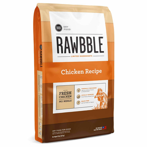Rawbble Dog Food - Chicken Recipe (24#)