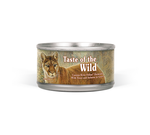 TASTE OF THE WILD CANYON CAT 3OZ CAN
