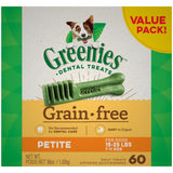 Greenies Dental Treats GF - Petite Dog (36oz Value Pack)