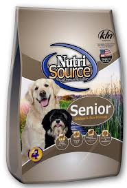 Nutrisource Senior Chicken & Rice K9 30#