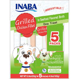 Inaba - Grilled Chicken Fillet Dog Treat (5 pack)