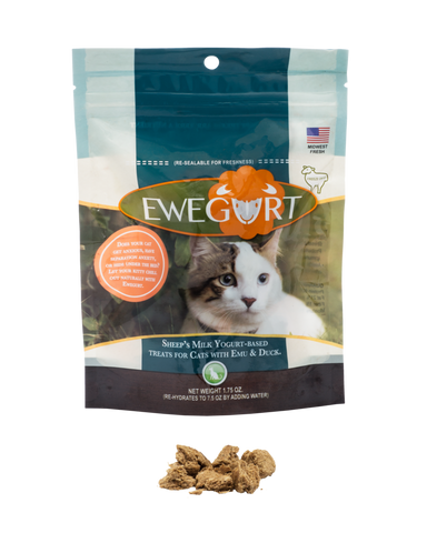 Ewegurt - Sheep's Milk Yogurt-Based Cat Treats