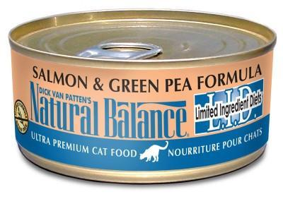 Natural Balance Cat Salmon 5.5oz