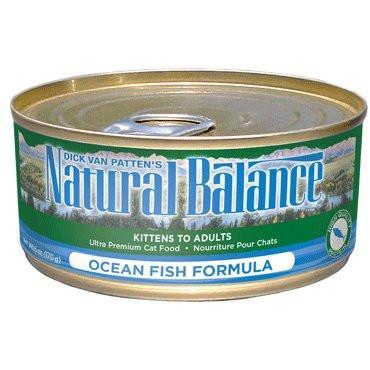Natural Balance Cat Ocean Fish 3oz