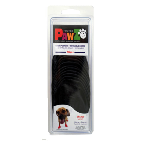 Protex Pawz Rubber Dog Boots (Small - 12 Pack)