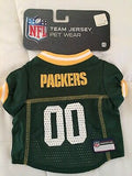 Packer Jersey Pet Athletic Wear (XS, S, M, L)