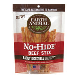 Earth Animal No Hide Beef Stix 10pk