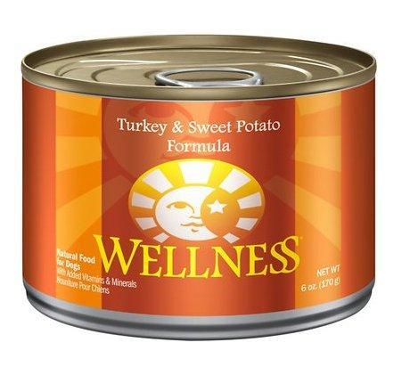 Wellness Turkey & Potato 6oz Dog Cans