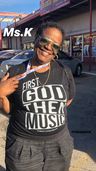 FIRST GOD THEN MUSIC