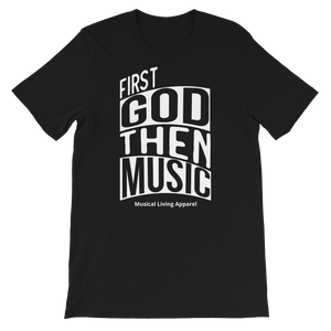First God Then Color Tees