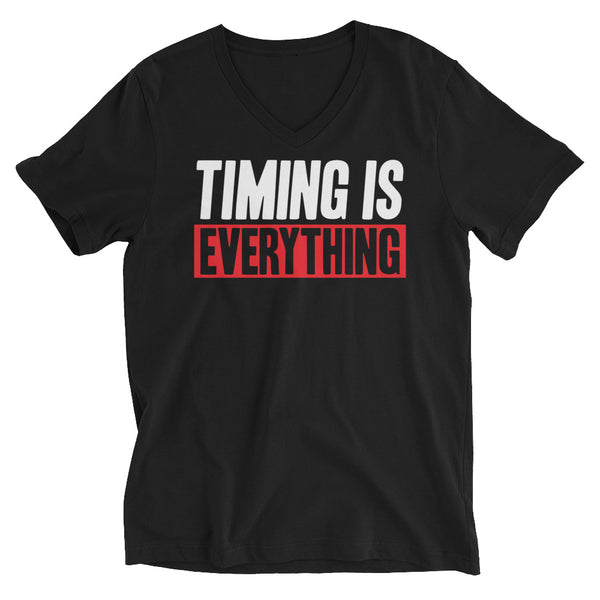 Timing Is Everything w/Lil John Roberts Women V-Neck