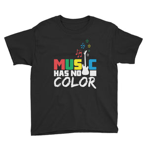 Kids Music Has No Color-Black