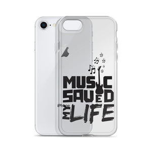 Music Saved MY Life iPhone Case