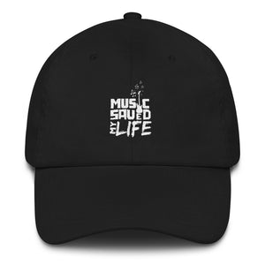 MSMLIFE Dad hat-Black