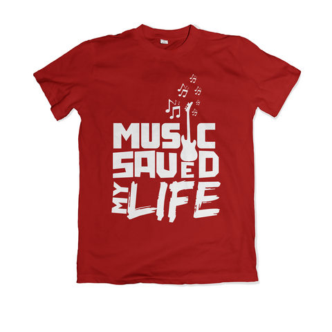 Music Saved My Life - Red