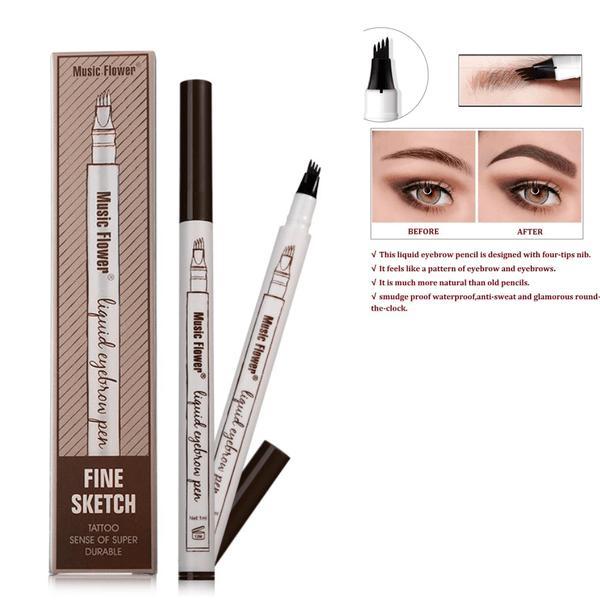 Waterproof Microblading Eye Brow Pen - Kateyspicks