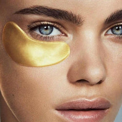 10 Pairs of Gold Eye Masks Power Crystal Gel Collagen Eye Masks - Kateyspicks