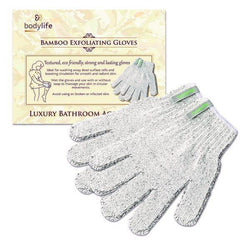 NEW! Energize & Rejuvenate - Carbonized Bamboo Exfoliating Shower Gloves - Kateyspicks