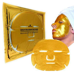 24k Gold Collagen Full Face Masks - Kateyspicks