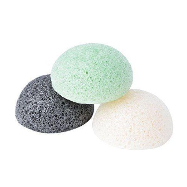 Natural Organic Konjac Jelly Konnyaku Face Sponge- For Sensitive, Oily Acne Prone Skin - Kateyspicks