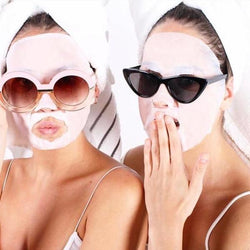 Anti Ageing Collagen Face Mask Neck Sheet, Crows Feet, Puffy Eyes, Tired Face, Wrinkles - Kateyspicks