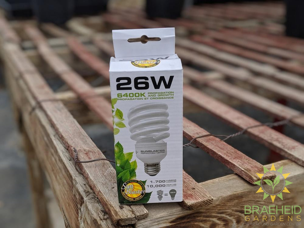 SunBlaster 26W Grow Bulbs