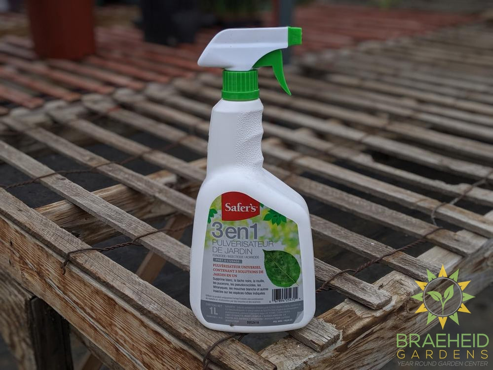 Safer's 3 in 1 Spray