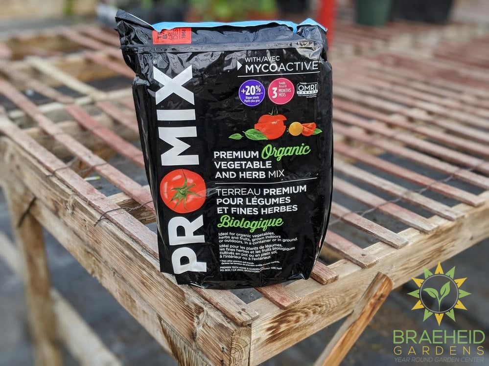 Pro-Mix organic veggie and herb mix available online in canada