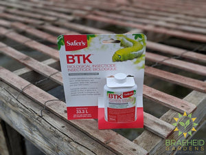 Safer's BTK Biological Insecticide