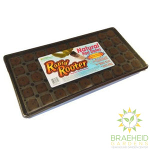 Rapid rooter starter tray