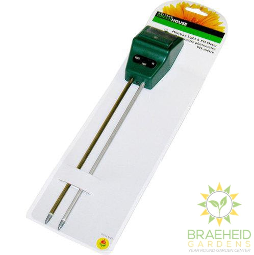 Plant Meter 3 in 1 - Light/Moisture/PH