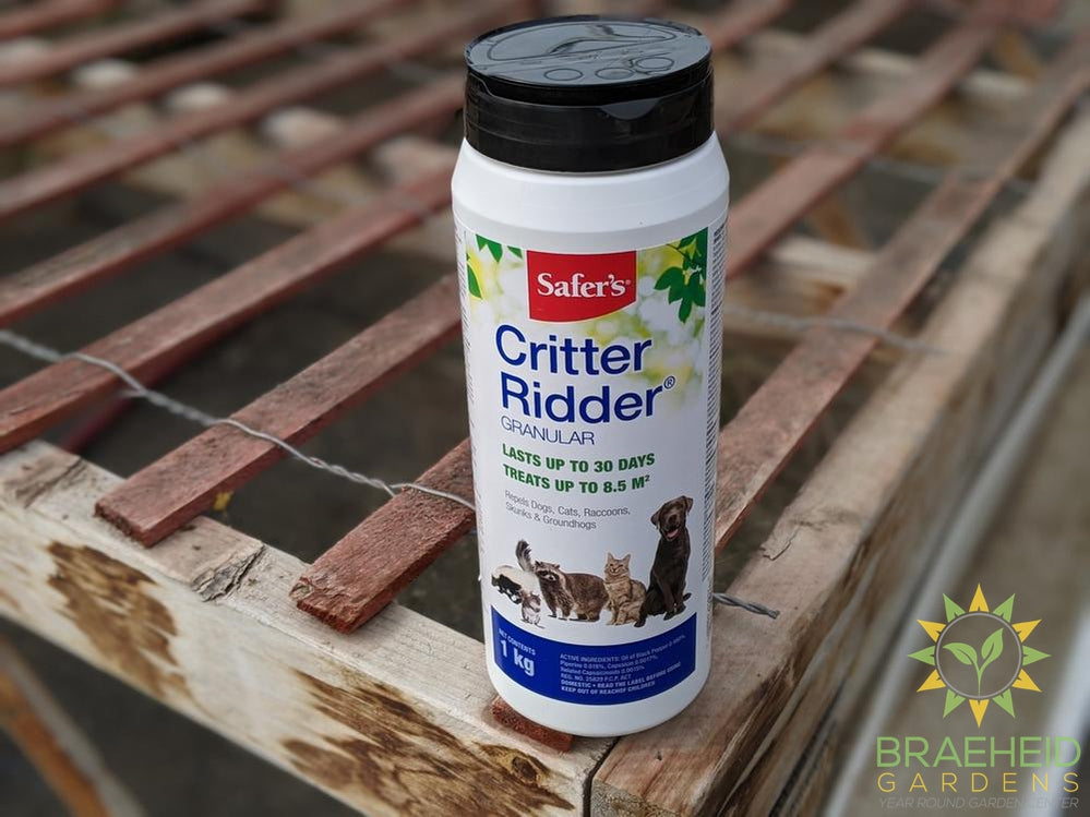 Safer's Critter Ridder Animal Repellant Granular