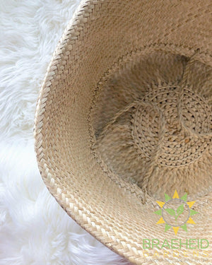 All Natural Basket W/ Seagrass Handles