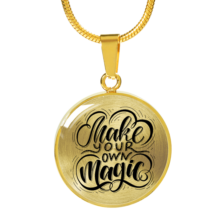 Make your own magic necklace with pendant bigideasofhappy make your own magic necklace with pendant aloadofball Images